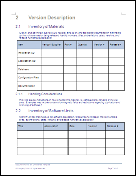 bill of materials template ms word excel templates forms