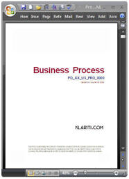 Business Process Template - Instant Download