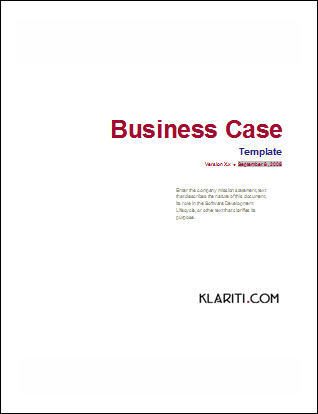 Business case template 22 pages ms word with free sample materials business case template ms word wajeb Choice Image