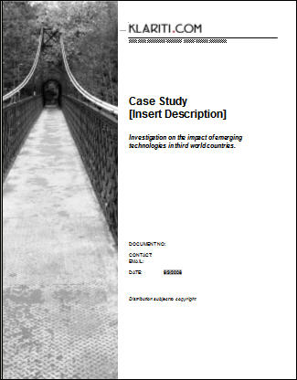 Case Study Template - Download 6 Ms Templates With Samples & Tutorials