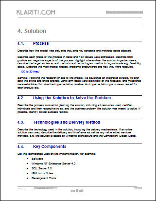 Business Case Template Word. 36 Dod Joint Weapons System Product