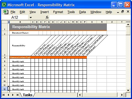 communication plan 6 free excel templates