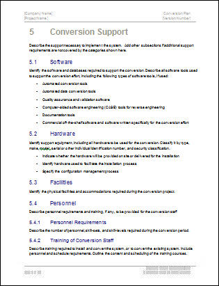 Microsoft Word Executive Summary Template. Executive Summary
