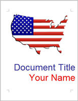 Download Free Word template - USA