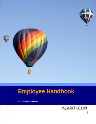 Employee Handbook Word Template