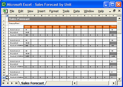 Marketing Plan  Ms Word And Excel Forms  Checklists