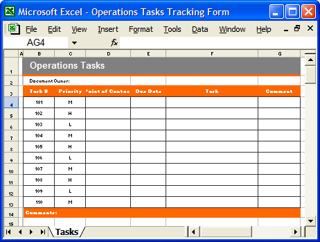Doc1443723 Daily Task Checklist Template 15 Free Task List – Daily Task Checklist Template