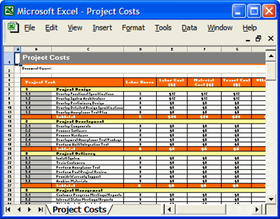 Project Plan Template Download Ms Word Amp Excel Forms