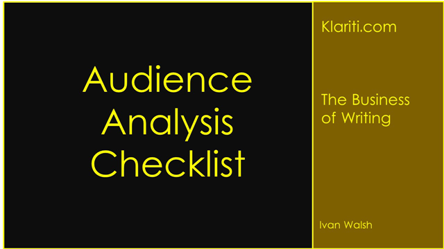 audience-analysis-checklist