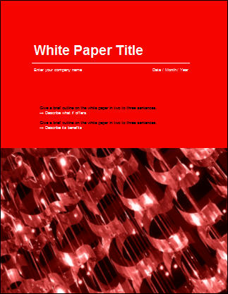 Great White Papers: SEO Tips For PDFs  Free White Paper Templates
