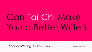How Tai Chi Will Make You a Better Technical Writer